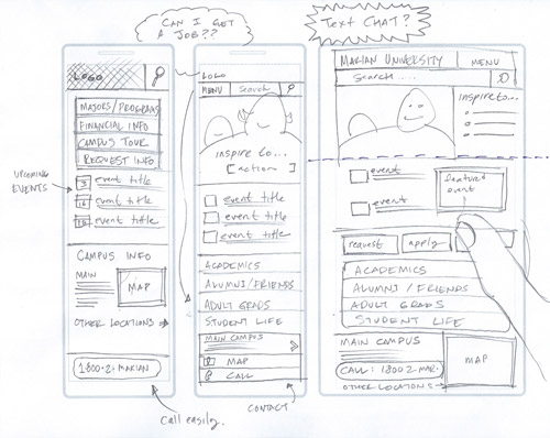 Examples of Sketches | Comm 328: Responsive Web Design